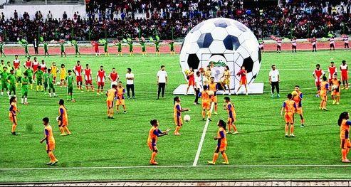 भूटान में हुए फुटबॉल मैच में हिसार की बेटियों ने जीता गोल्ड
