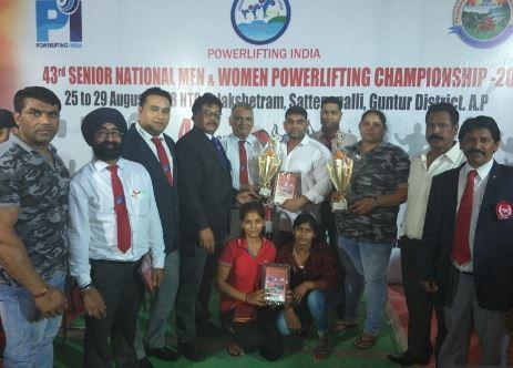 नेशनल पावर लिफ्टिंग चैंपियनशिप में हरियाणा की महिला पावर लिफ्टर ने जीता स्वर्ण, व कांस्य पदक, बनाया नेशनल रेकॉर्ड