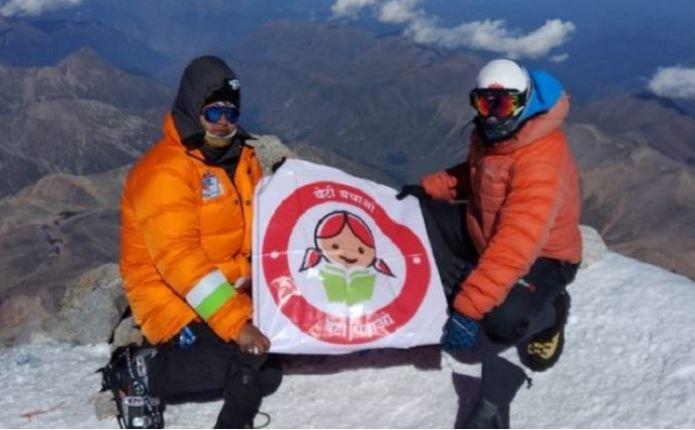 हरियाणा की बेटी विकास राणा माउंट एल्ब्रूस से स्कीइंग कर नीचे उतरने वाली भारत की पहली खिलाड़ी बनी