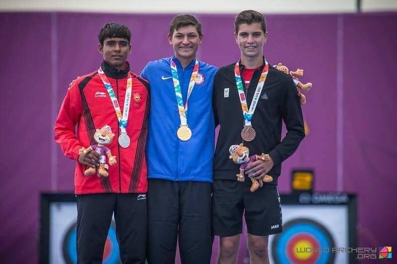 यूथ ओलंपिक में तीरदांजी में सिल्वर जीत पहले भारतीय बने हरियाणा के आकाश मलिक
